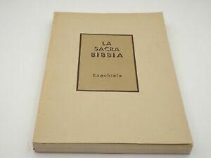 La Sacra Bibbia. Ezechiele SPADAFORA FRANCESCO -1951 MARIETTI 9788821170751