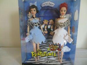 Barbie The Flintstones Betty Rubbles & Wilma Flintstone Silver label MIB NRFB