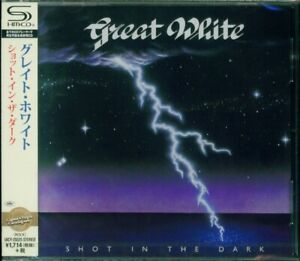 GREAT WHITE SHOT IN THE DARK 2015 RMST SHM CD - NEW/FACTORY SEALED OUT OF PRINT!