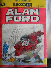 Alan Ford  Raccolta n°3 (contiene numeri 178-179-180)  [G309] difettato