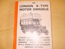 The London B Type Motor Omnibus - 2nd Edition 1980 - As Photo