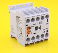 Sprecher + Schuh CA8-09C-10 Mini Contactor 24V DC Coil 3P AC-1 690V 20A 6kV