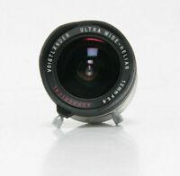 Voigtländer Ultra Wide Heliar 12mm F5.6 für M39 Leica Silber