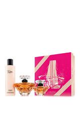 Lancome Tresor PARIS EN ROSE Eau de Parfum,Body Lotion and Travel Spray Gift Set