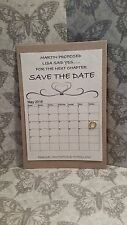 10 Save The Date (handmade Card)