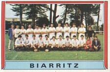 106 TEAM EQUIPE # OLYMPIQUE BIARRITZ RUGBY STICKER PANINI RUGBY 83