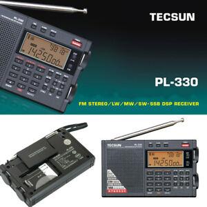 Tecsun PL330 Full Band Radio FM Stereo LW/MW/SW SSB DSP Receiver 3305 Version