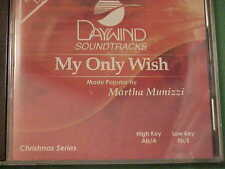 My Only Wish~~Martha Munizzi~~Daywind Soundtrack~CD~2 Key~NEW