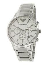 Polierte Emporio Armani Armbanduhren mit Datumsanzeige