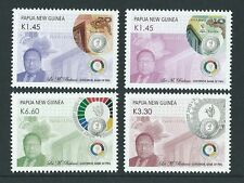 PAPUA NEW GUINEA 2016 COINS AND BANKNOTES UNMOUNTED MINT, MNH SET OF 4