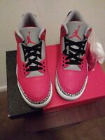 Nike Air Jordan Retro 3 Red Cement CK5692-600 Size 9.5 New With Box