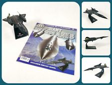 AMER Giant Warplanes - Lockheed SR-71 Blackbird | 1:144 Diecast Model & Magazine