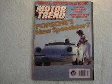 Motor Trend 1988 June Accord LXi BMW 750iL Merkur Beretta GTU Mercedes 300CE