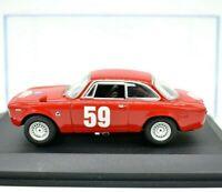Miniature voiture Alfa Romeo Giulia Gta auto 1:43 diecast Modélisme Static
