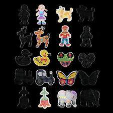 10PCS Hama Bead Board For MIDI Beads Large Selection Peg Boards Kids Craft Gifts