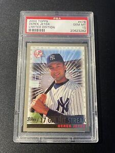 Derek Jeter - 2000 Topps Baseball - Limited Edition (PSA 10)