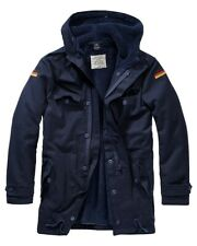 BRANDIT Giacca Giubbotto uomo militare invernale BW Parka Flag Navy Over sizes