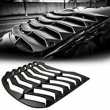 Rear Window Louvers ABS Window Scoop Windshield Cover for Ford Mustang GT 15-20