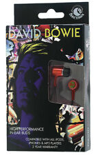 David Bowie In-Ear Buds Artist Headphones for iPod iPhone MP4 MP3 Player