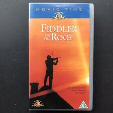 Fiddler On The Roof - Topol , Norma Crane , Leonard Frey - VHS Video UK 2004 GDA