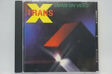 Trans X - Living On Video   CD Album