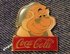 Disney Pin~Mr. Smee~Peter Pan Movie~15th anniversary~WDW~1986~Coca Cola~Coke
