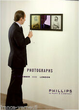 Auction catalog Phillips de Pury Photo Photographs 22 NOVEMBER 2008 LONDON