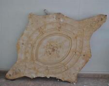 Moule ancien d'atelier de plâtrier staffeur - Rosace losange Louis XV