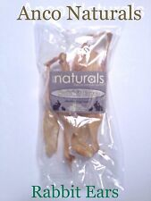 Rabbit Ears by Anco Naturals ~ 100g per Pack ~ 100% Natural & Healthy