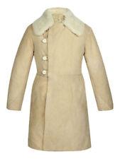 Russian Tulup Bekesha Winter Officer Sheepskin Coat Army USSR Shearling Jacket