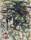 Joan Mitchell Search For The Needle Canvas Print 16 x 20     #3916