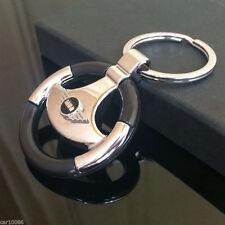 Car logo Metal Steering Wheel Key Chain pendant KeyRing Keychain for MINI COOPER