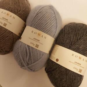 Knitting Yarn - Rowan Cocoon - 100g balls of wool & mohair luxury chunky