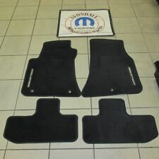 Dodge Challenger Slate Gray Carpet Floor Mats Front and Rear MOPAR OEM NEW