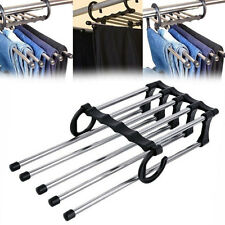 Useful Shirt Trousers Pants Scarf Coat Hanger Hook Clothes Rack Organizer Tool