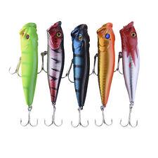 Lot 5pcs Kinds of Fishing Lures Crankbaits Hooks Minnow Baits Tackle Fish Lure