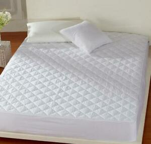 30cm Extra Deep Quilted Matress Protector Topper Cover Single Double King Size