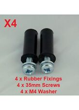 Car Number Plate Fixing Screw & Rubber Grommet / Rawl Plug / Anti Vibration