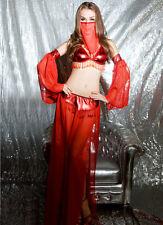 BELLY DANCER BOLLYWOOD JASMINE GENIE ARABIAN PRINCESS LADIES COSTUME SIZE 10