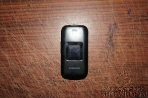 Used & Untested Samsung T159 Black Flip Phone For Parts Or Repairs Only