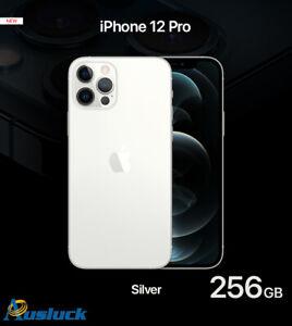 "APPLE iPHONE 12 PRO 256GB SILVER MGMQ3X/A UNLOCKED BRAND NEW  ""AUSLUCK"""