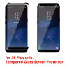 For Samsung Galaxy S8+Plus Premium Tempered Glass Screen Protector Anti-Scratch