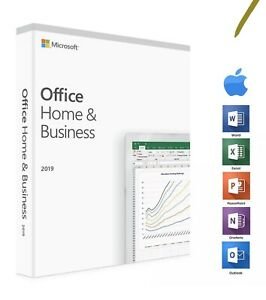 MICROSOFT OFFICE HOME AND BUSINESS 2019 FULL LICENSE FOR MAC PROMO