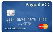 BUY VCC FOR PAYPAL VERIFICATION VIRTUAL CREDIT CARD PAYPAL ACCOUNT USA