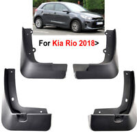 Set Mud Flaps Fit For Kia Rio 2018 YB Hatchback Splash Guards Mudguards 2017 New
