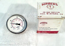 """Winters THERMOMETER for Hot Water and Air T174-SW 2.5"""" 30-250F Dial Type"""