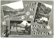 SALUTI DA BARCIS VAL CELLINA - VEDUTINE (PORDENONE) 1961