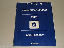 Werkstatthandbuch Reparaturanleitung Schaltpläne 1996 Chrysler Neon