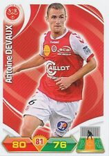 ANTOINE DEVAUX #  STADE REIMS TRADING CARDS ADRENALYN PANINI FOOT 2013
