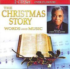 James Earl Jones : The Christmas Story; Words And Music CD